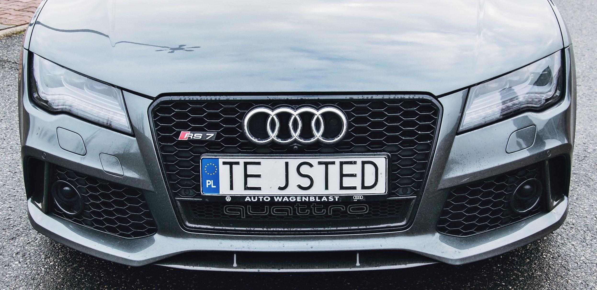 Architekt – Audi RS7