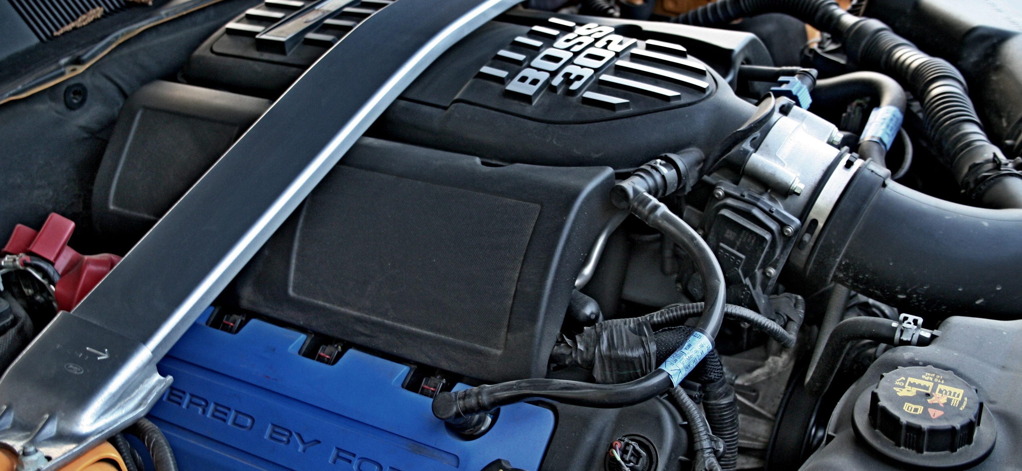 Mechaniczna pomarańcza – Mustang boss 302