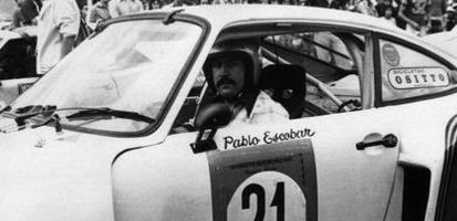 Pablo Escobar – kierowca wyścigowy