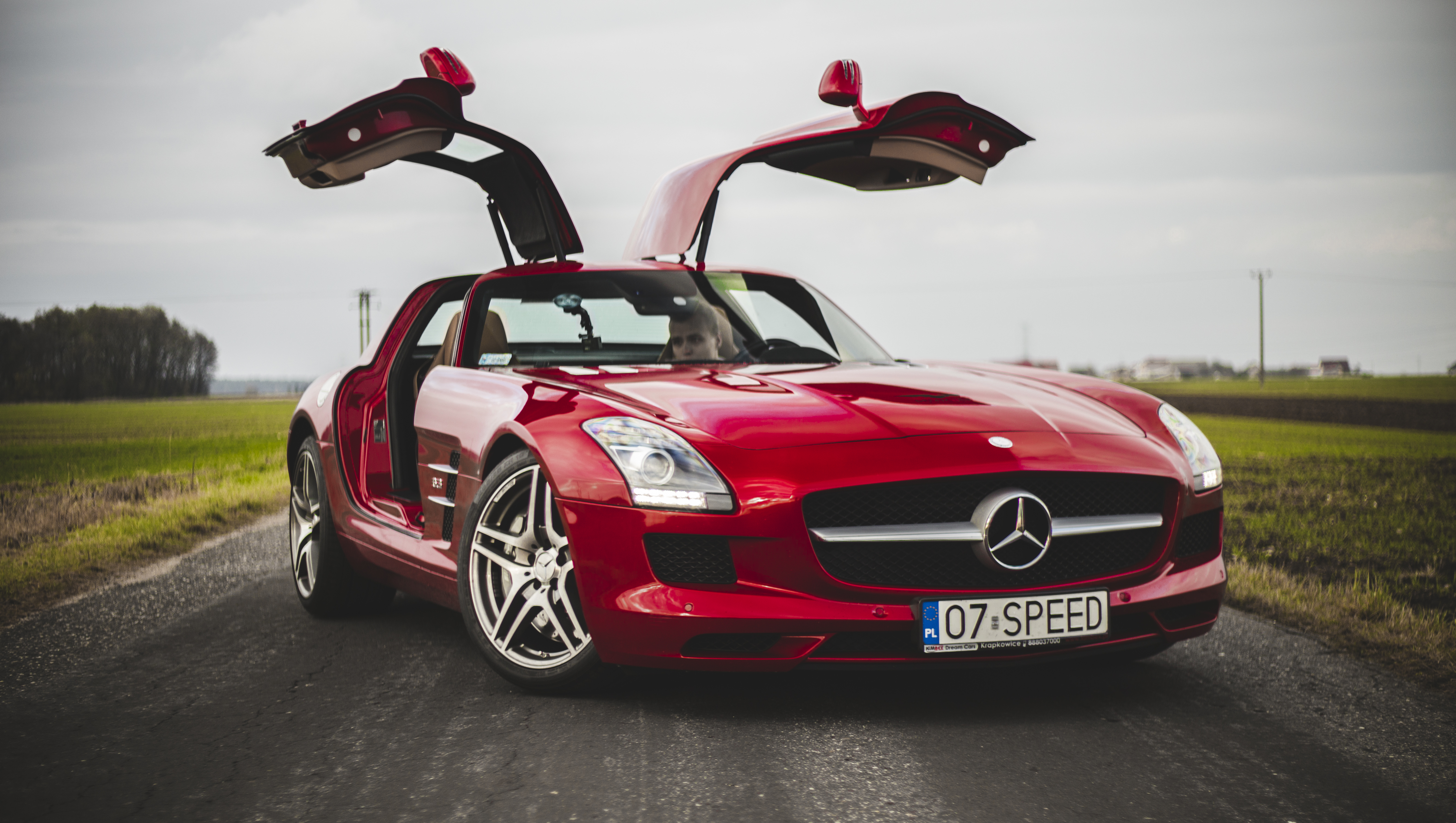Mercedes SLS AMG – Mewa
