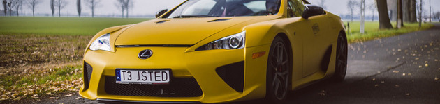 Lexus LFA – sztuka