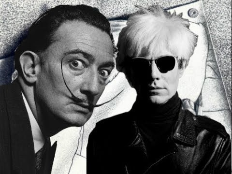 Salvador Dali VS Andy Warhol