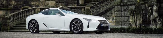 Lexus LC500: the LFA that you can take on vacations.
