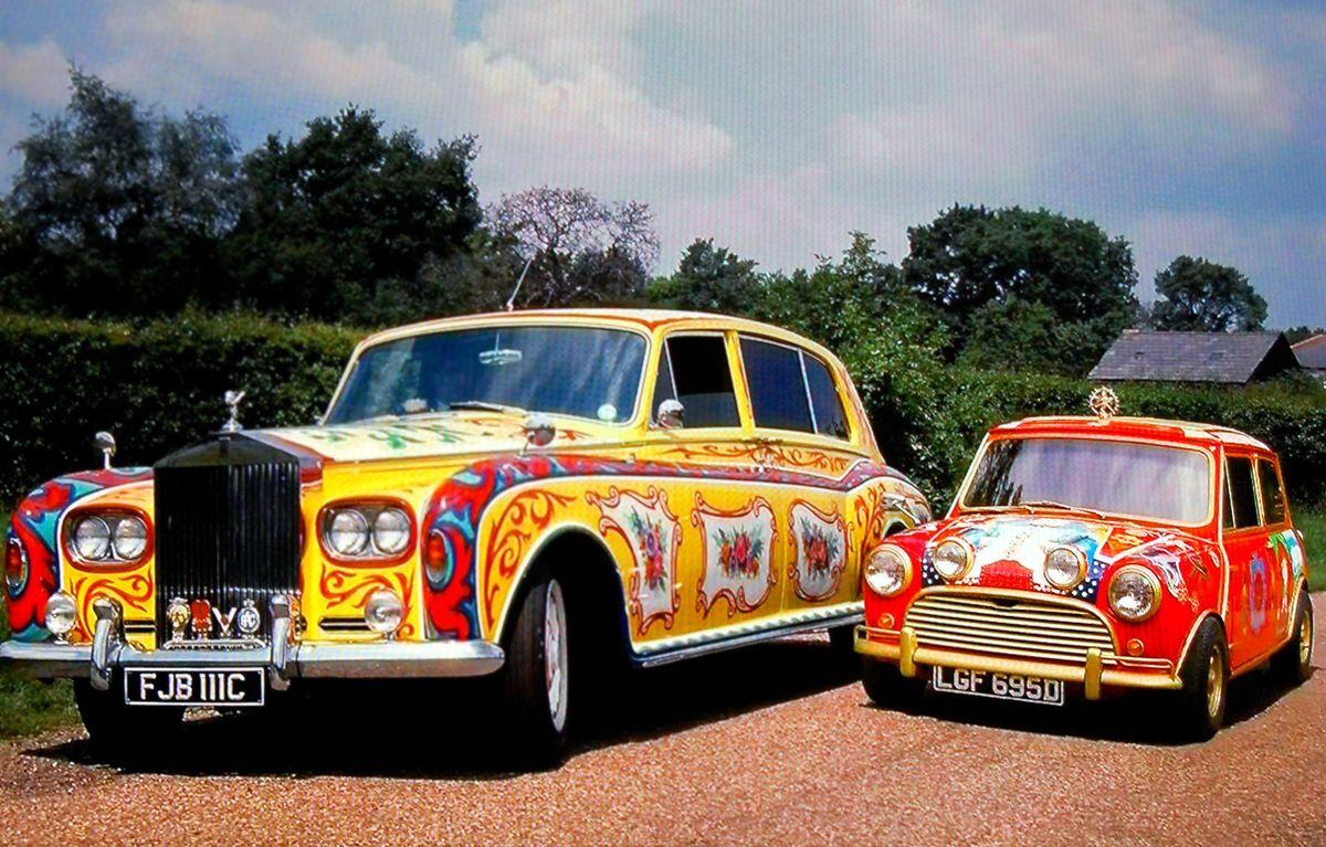 Naćpane Samochody, czyli jak Beatlesi pokochali art car.