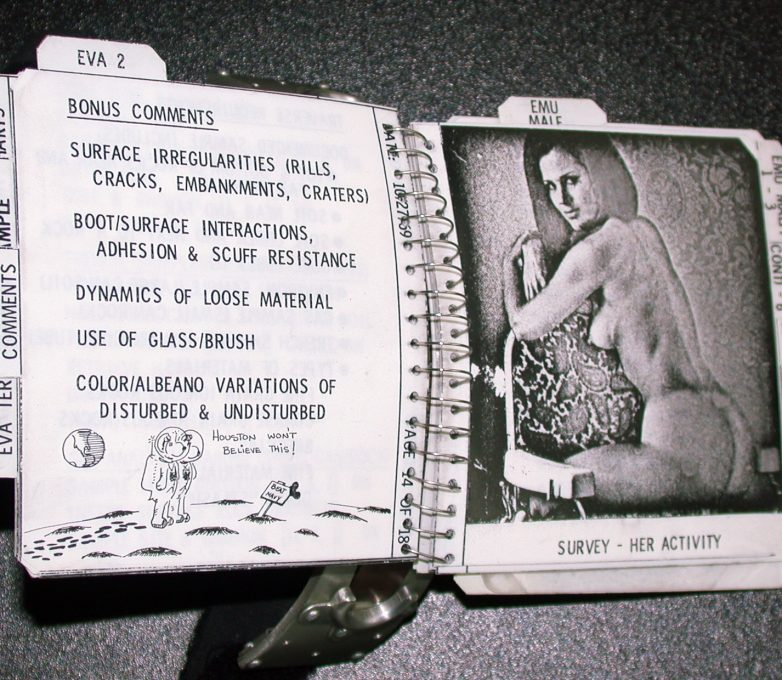 Apollo 12 CDR Cuff Checklist (źródło: NASA)