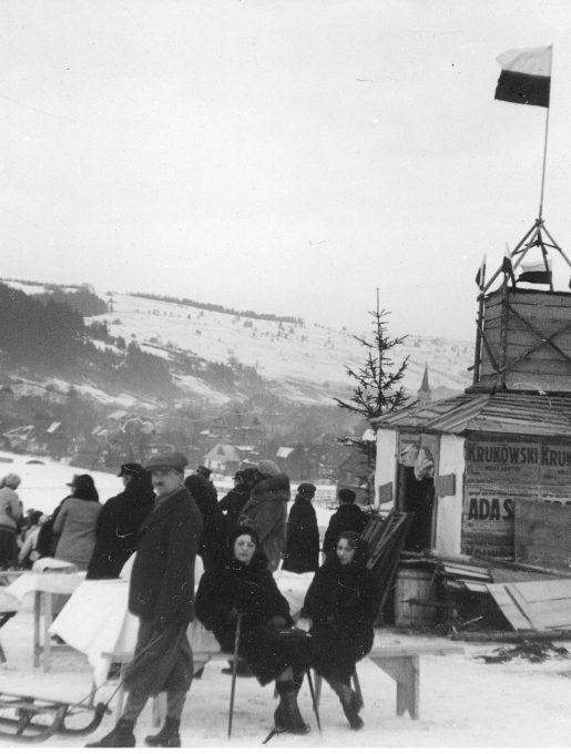 Punkt gastronomiczny dla publiczności i zawodników, 1931r. (źródło: NAC)