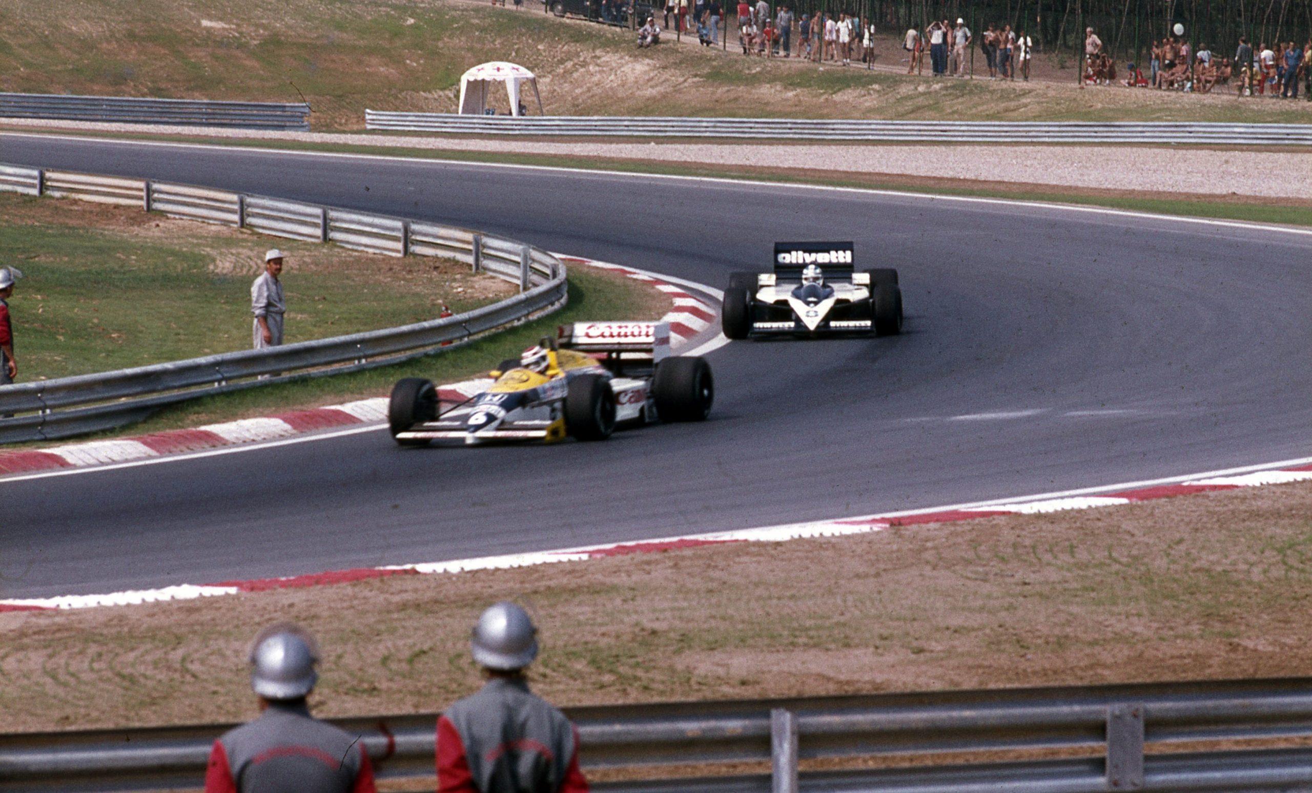 Hungaroring, 1986 r. (źródło: Fortepan, Urbán Tamás)